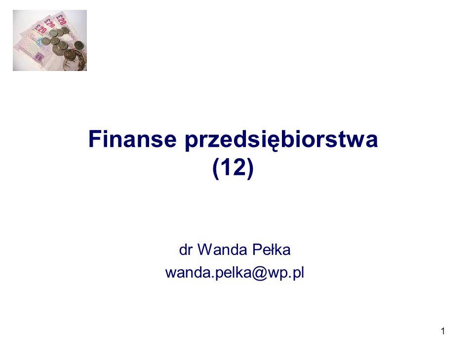 Finanse przedsiębiorstwa (12)