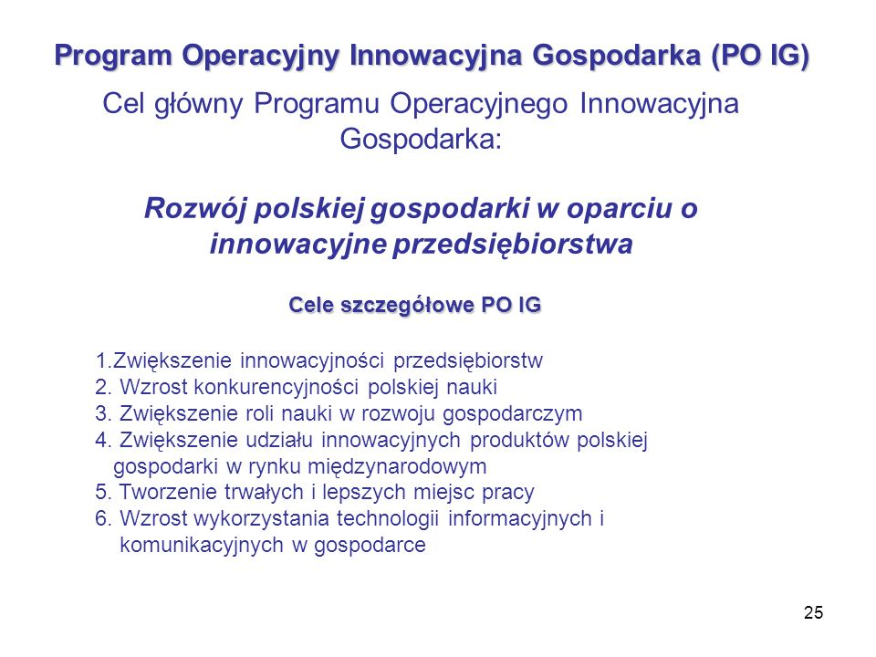 Rozwój polskiej gospodarki w oparciu o innowacyjne przedsiębiorstwa