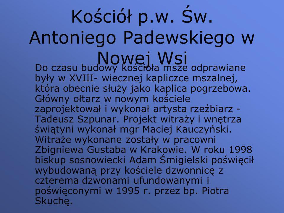 Kościół p.w. Św. Antoniego Padewskiego w Nowej Wsi