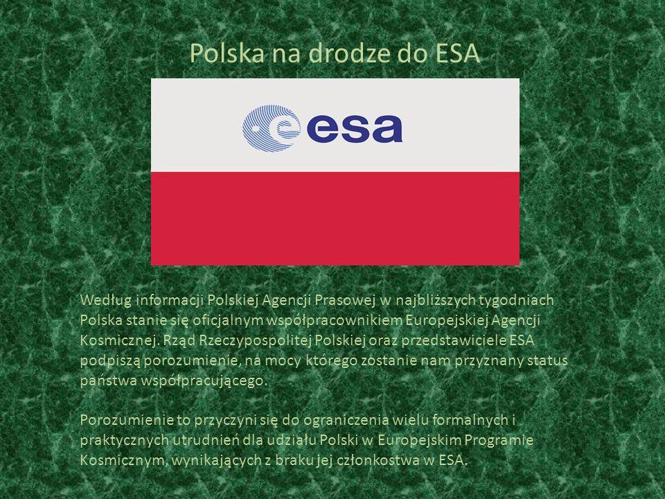 Polska na drodze do ESA