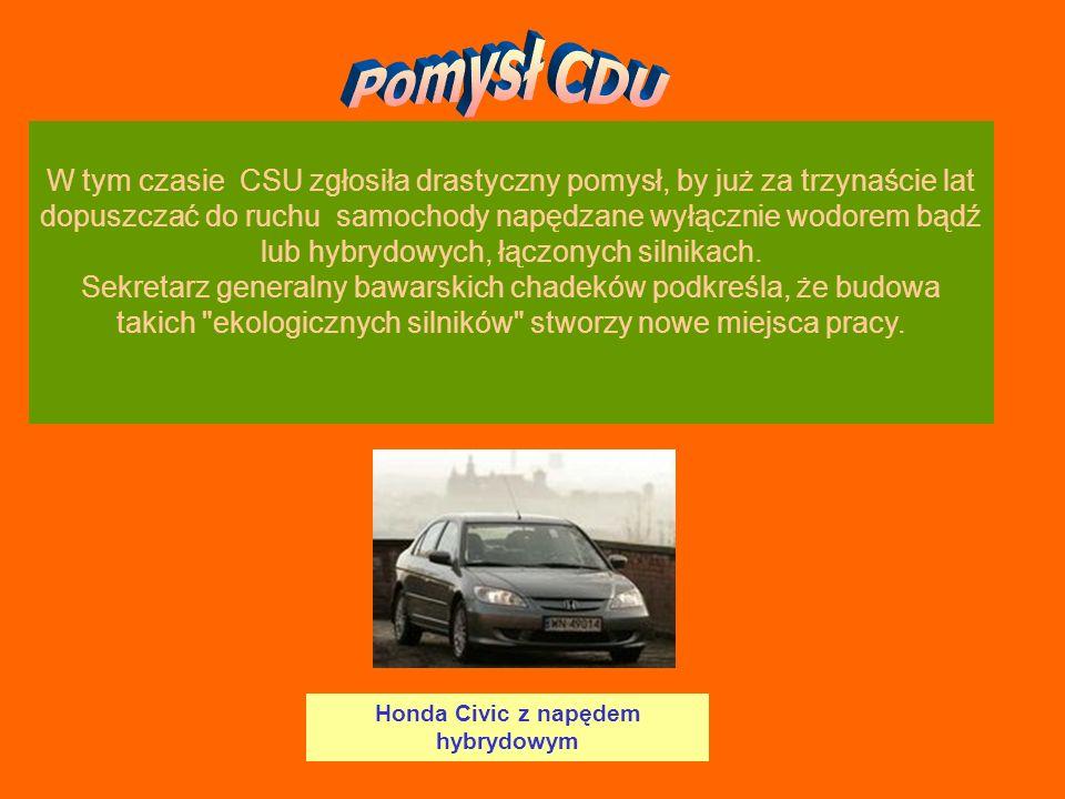 Honda Civic z napędem hybrydowym