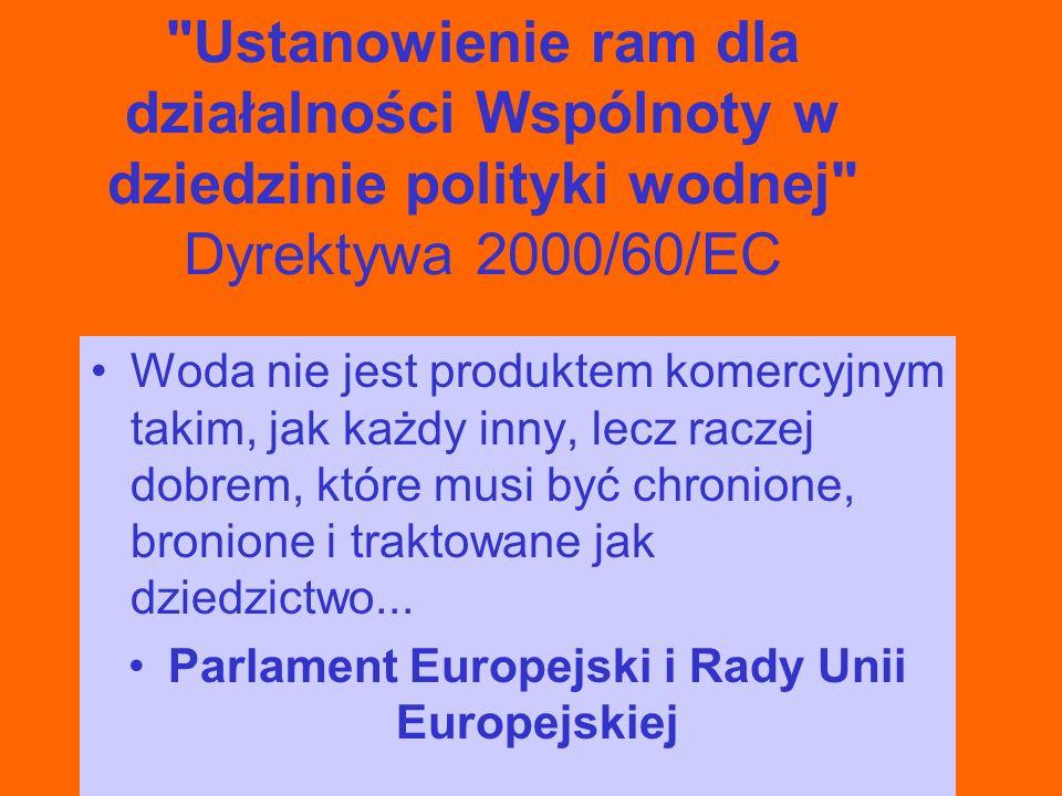 Parlament Europejski i Rady Unii Europejskiej