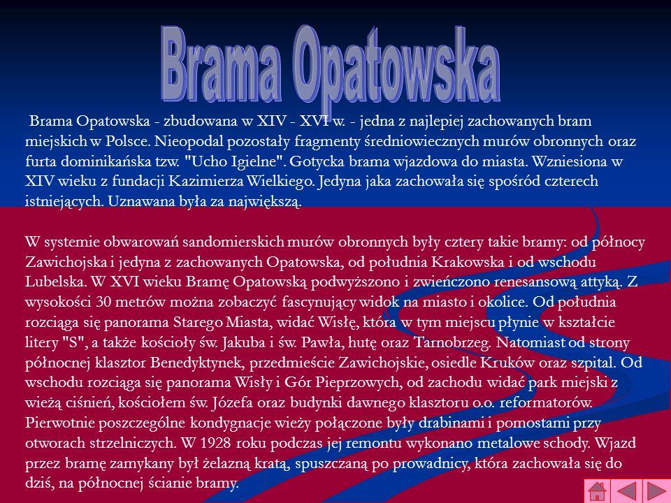 Brama Opatowska