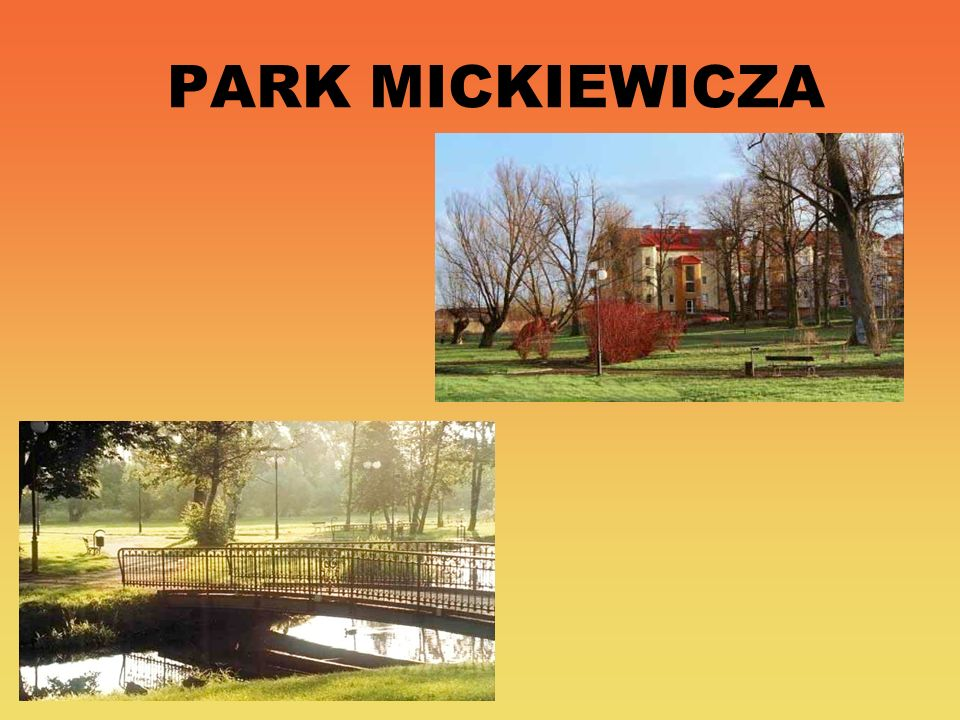 PARK MICKIEWICZA