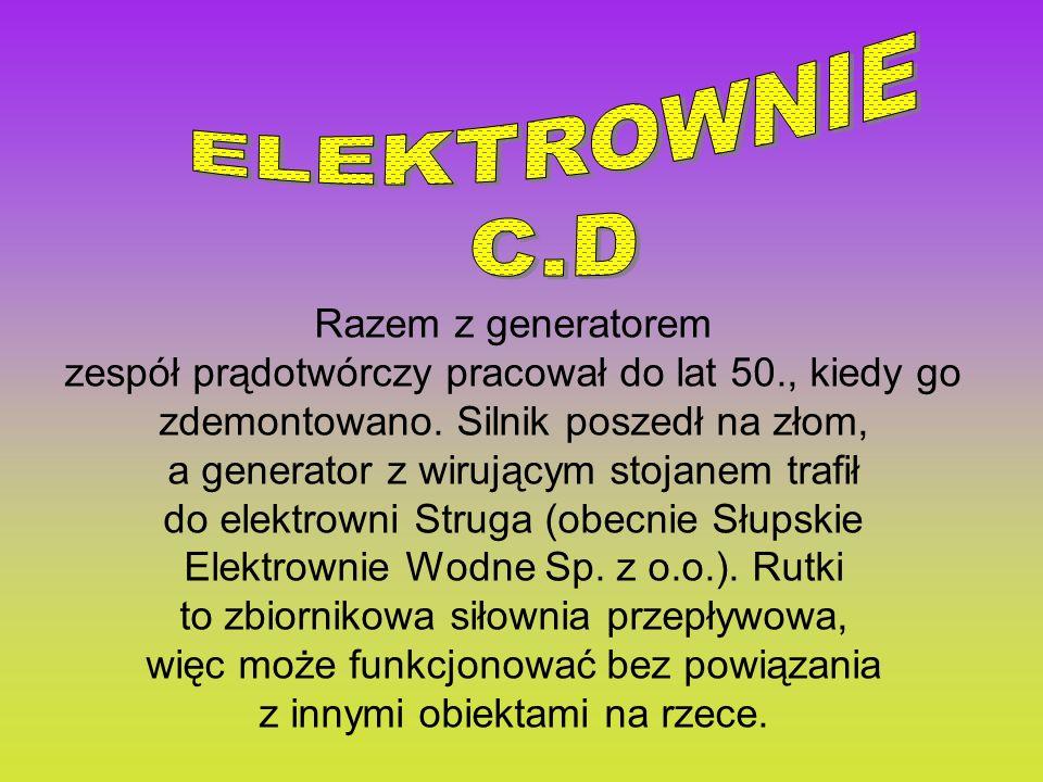 ELEKTROWNIE C.D Razem z generatorem