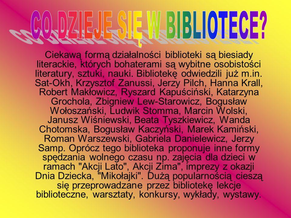 CO DZIEJE SIĘ W BIBLIOTECE