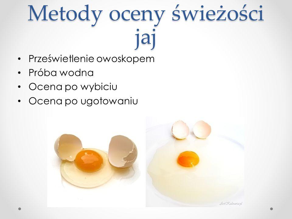 Metody oceny świeżości jaj