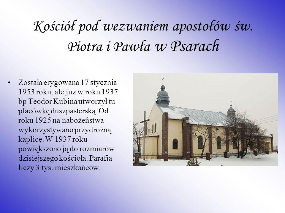 Kościół pod wezwaniem apostołów św. Piotra i Pawła w Psarach
