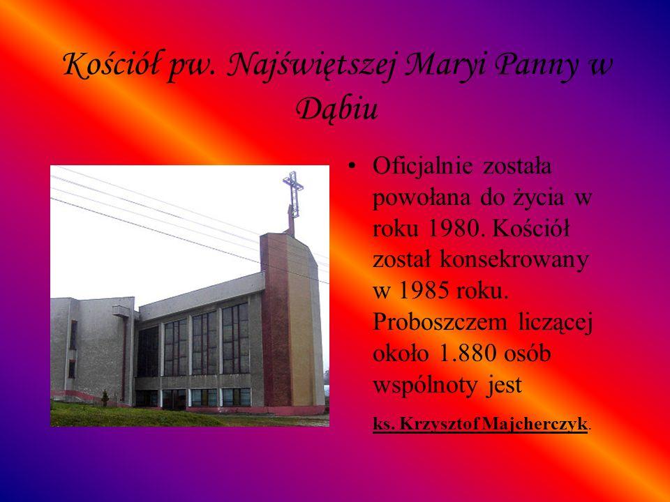 Kościół pw. Najświętszej Maryi Panny w Dąbiu