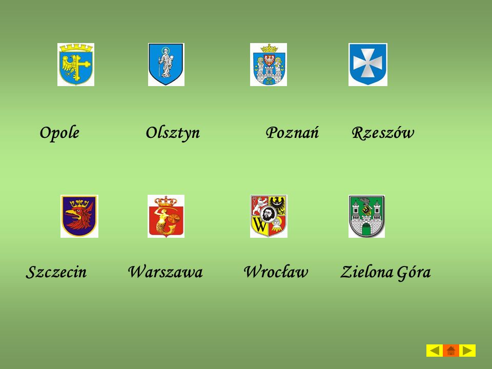 Opole Olsztyn Poznań Rzeszów