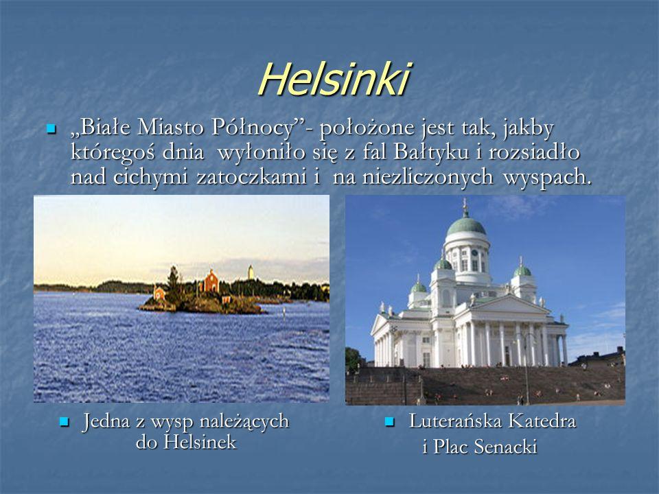 Jedna z wysp należących do Helsinek