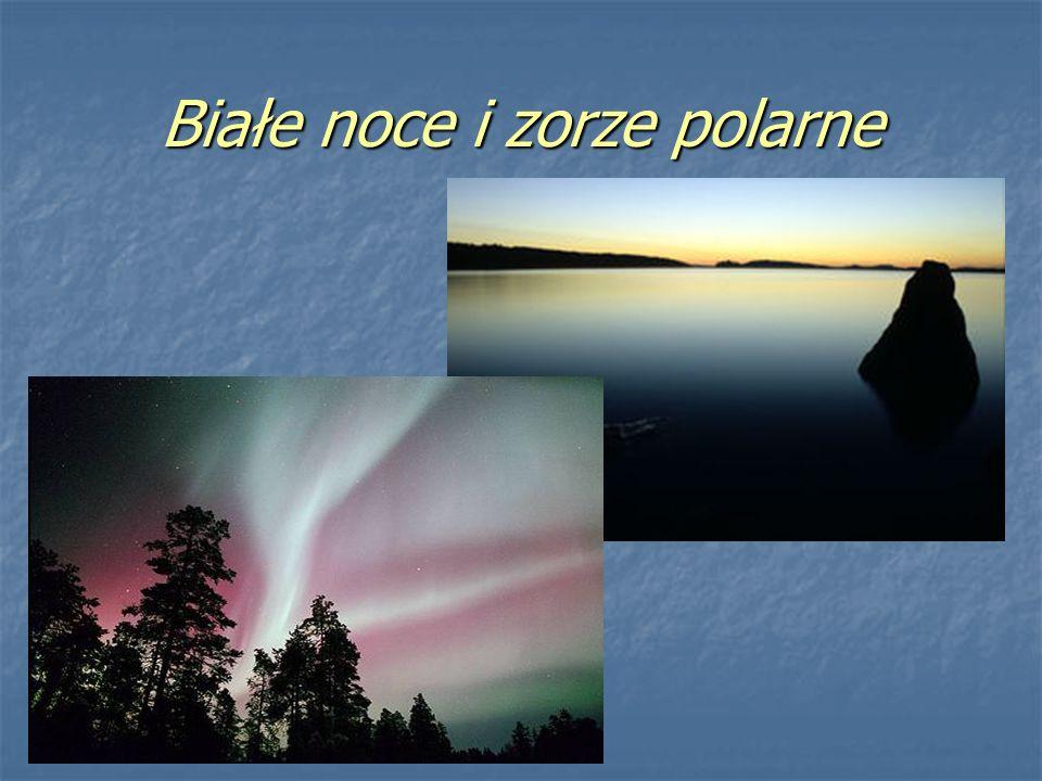 Białe noce i zorze polarne