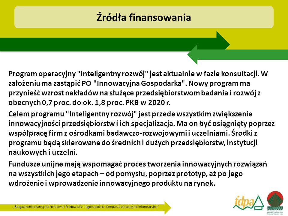 Źródła finansowania