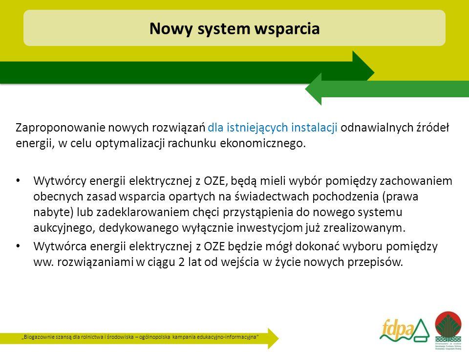 Nowy system wsparcia