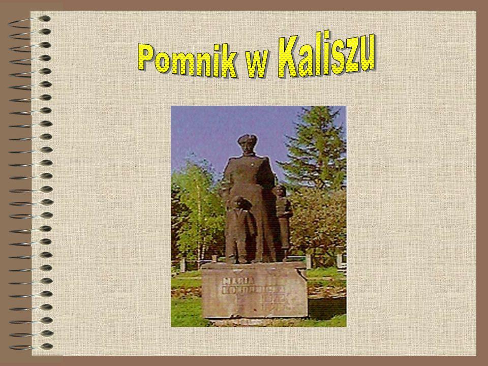 Pomnik w Kaliszu