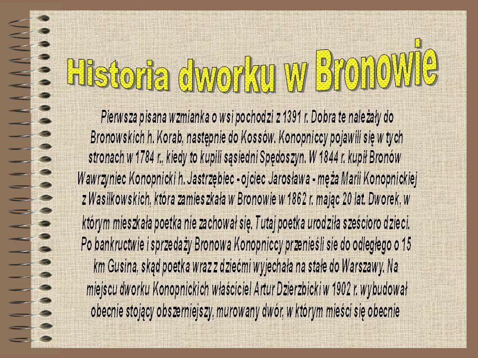 Historia dworku w Bronowie