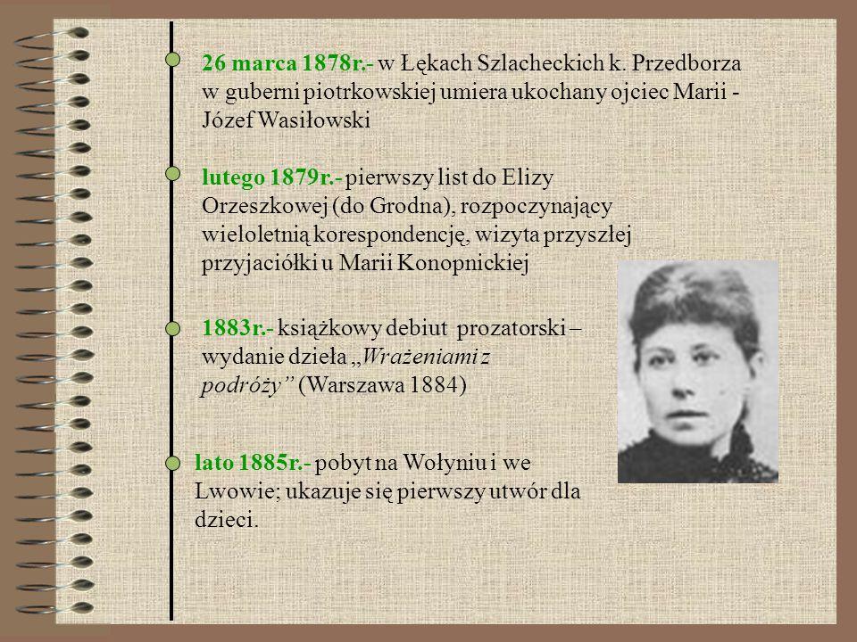 26 marca 1878r. - w Łękach Szlacheckich k