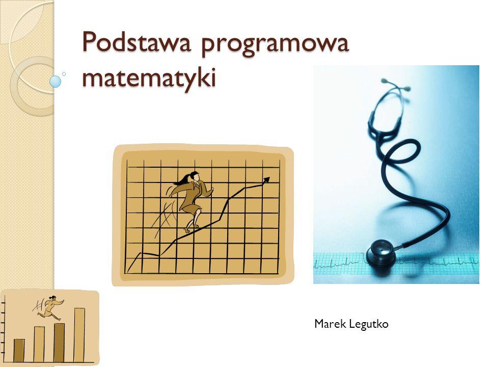 Podstawa programowa matematyki