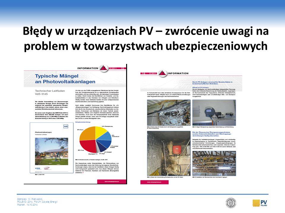 Krytyczna cecha instalacji PV = prąd stały (DC)