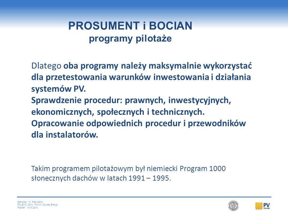 PROSUMENT Program pilotażowy