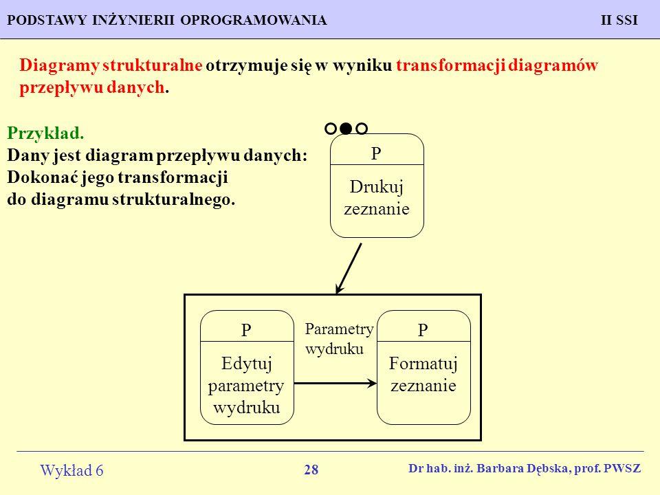 Edytuj parametry wydruku