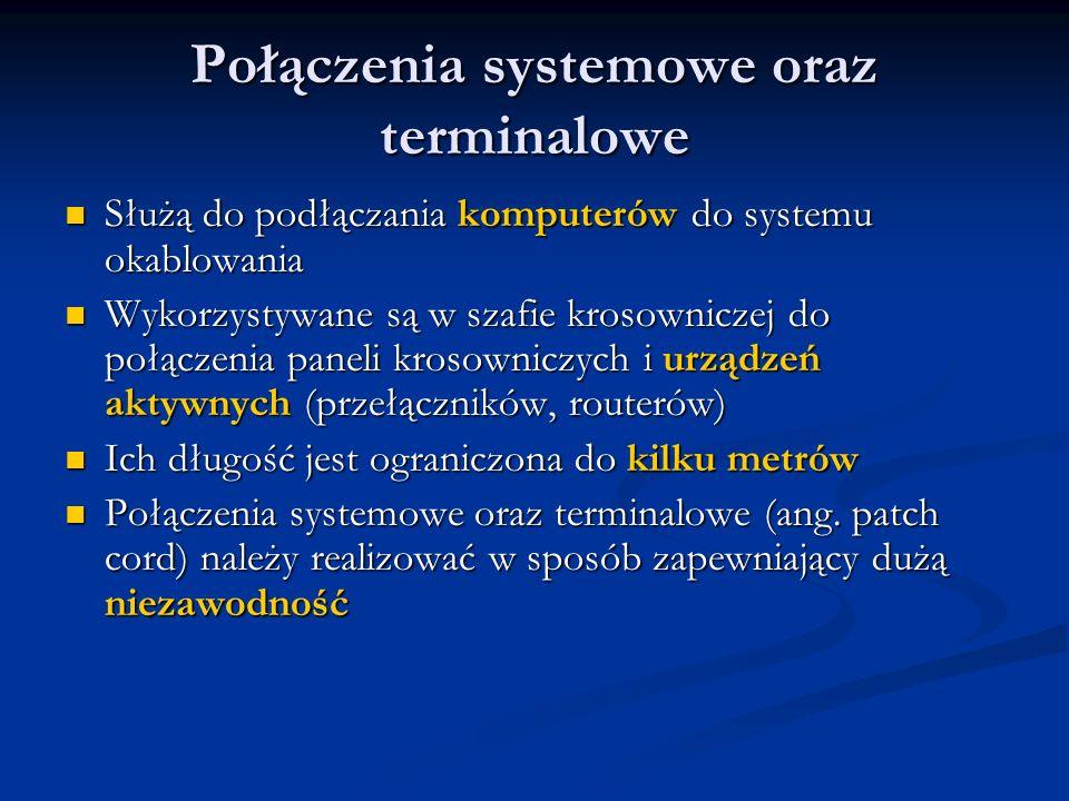 Połączenia systemowe oraz terminalowe