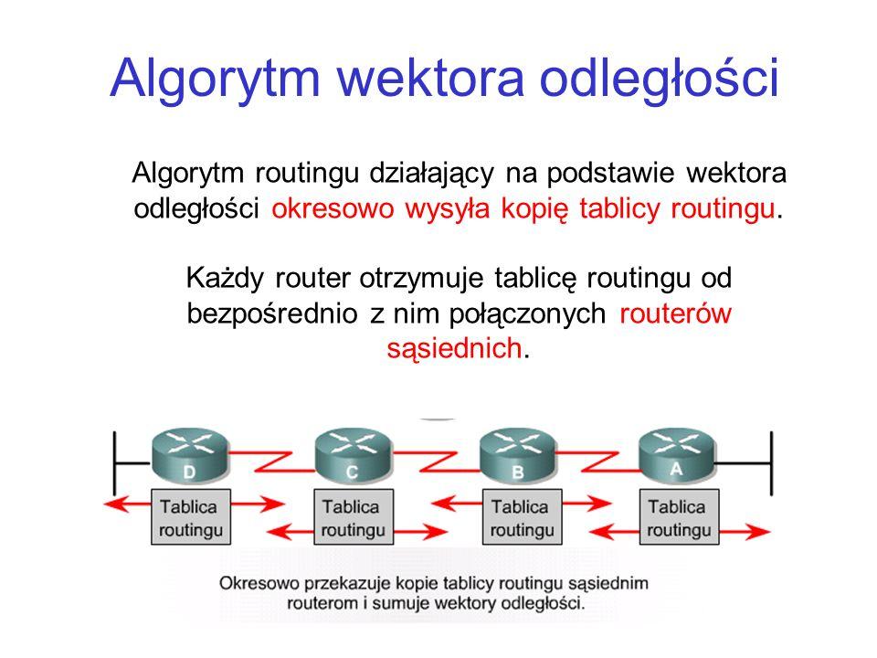 Algorytm wektora odległości