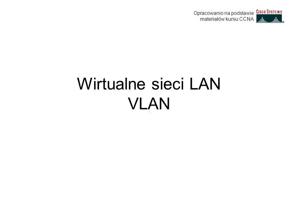 Wirtualne sieci LAN VLAN