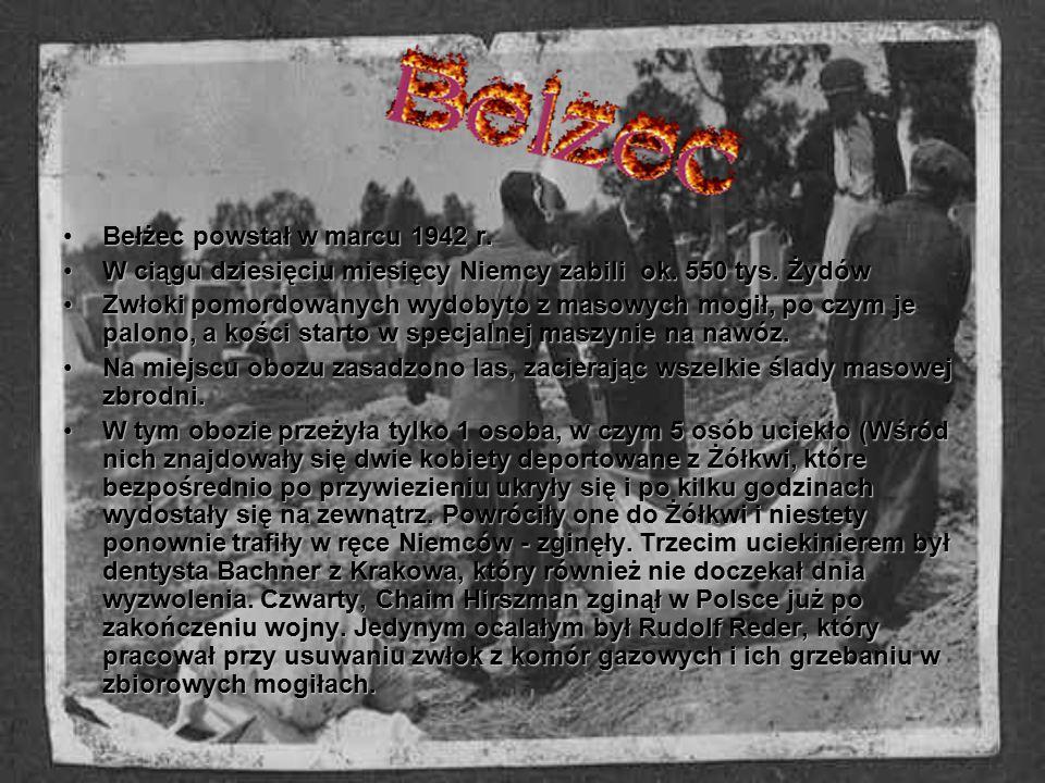 Bełżec powstał w marcu 1942 r.