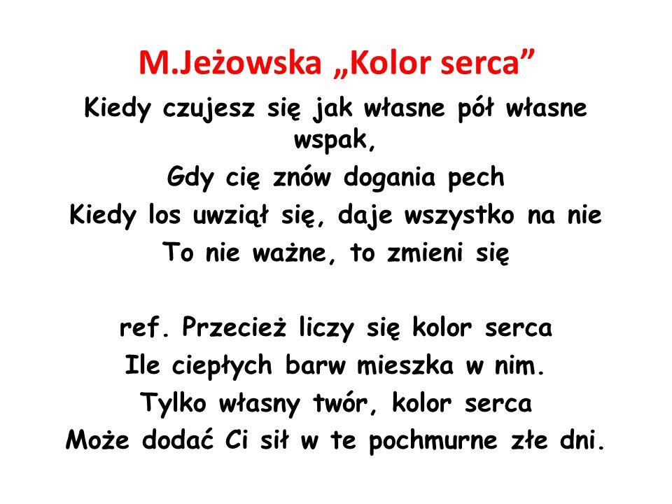 "M.Jeżowska ""Kolor serca"