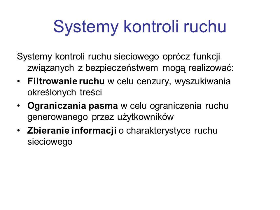 Systemy kontroli ruchu