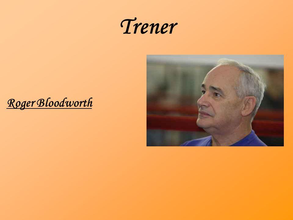 Trener Roger Bloodworth
