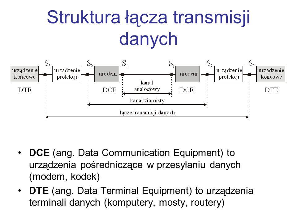 Struktura łącza transmisji danych