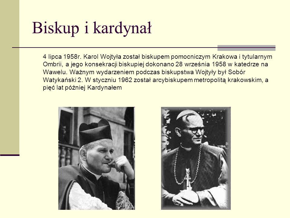 Biskup i kardynał