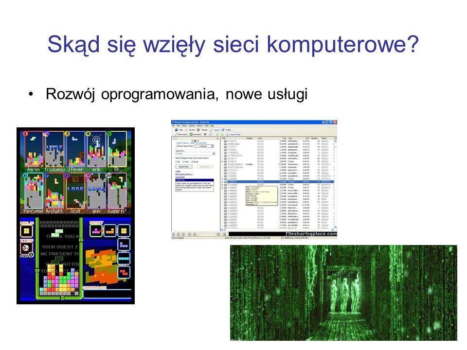 Skąd się wzięły sieci komputerowe