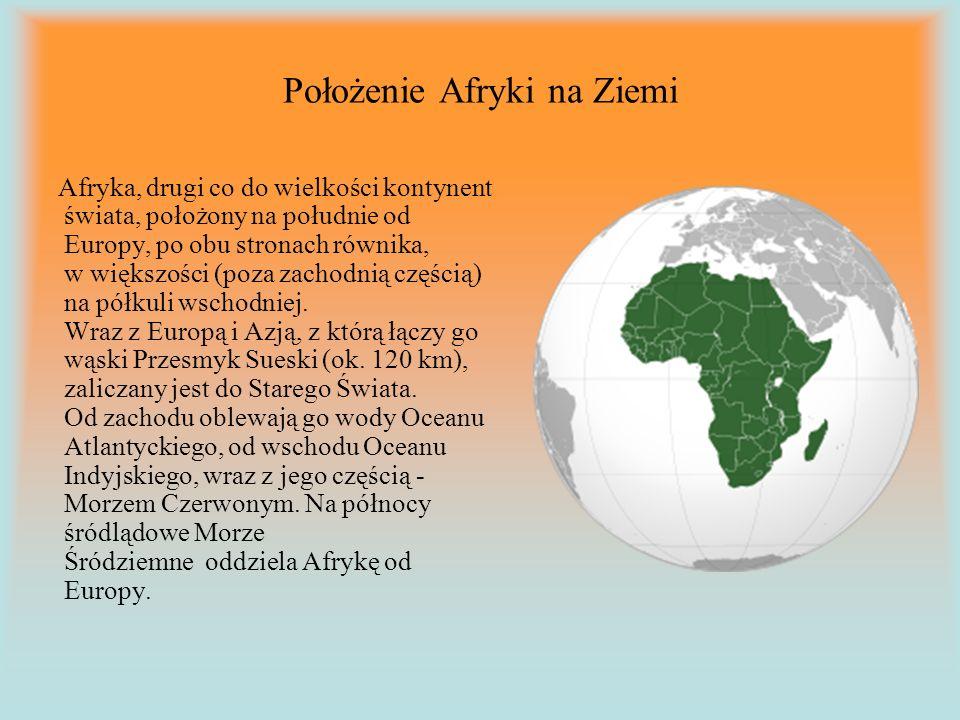 Położenie Afryki na Ziemi