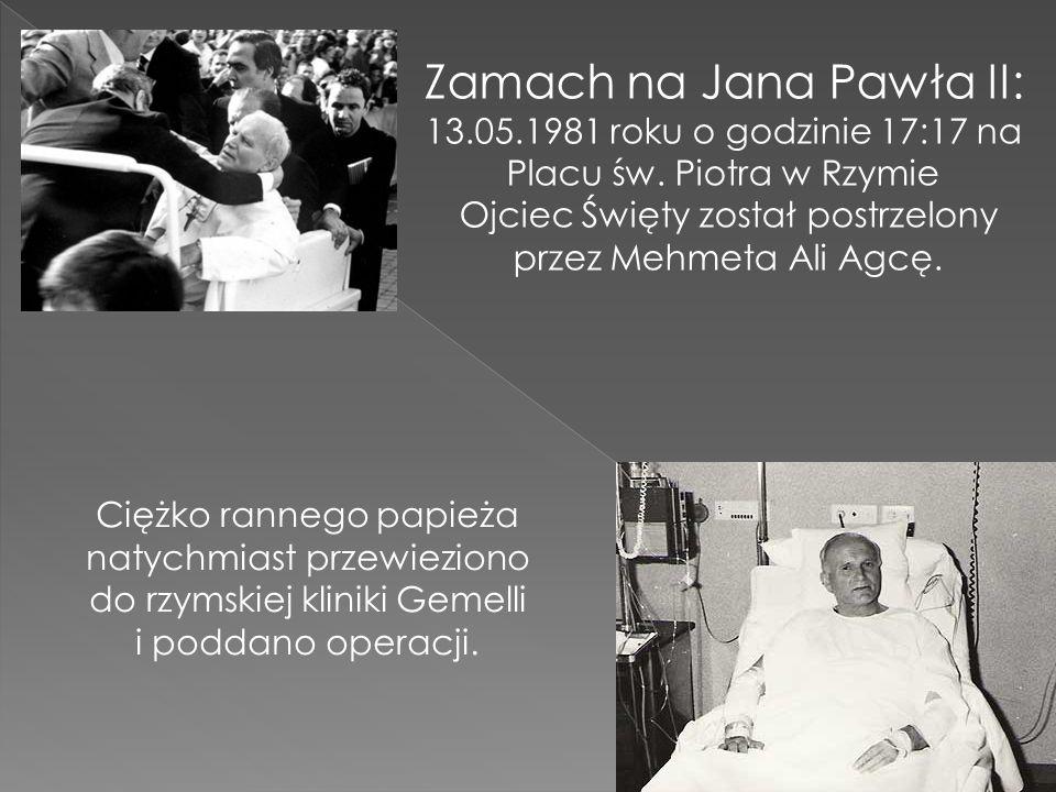 Zamach na Jana Pawła II: