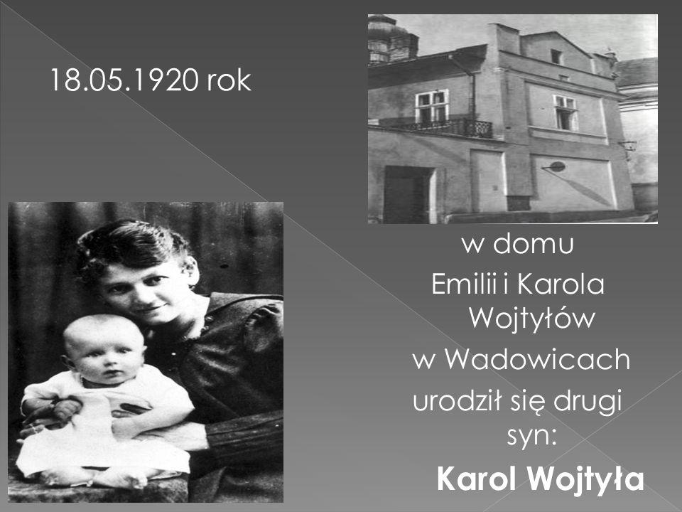 Emilii i Karola Wojtyłów