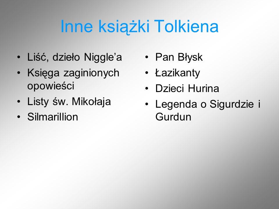 Inne książki Tolkiena Liść, dzieło Niggle'a