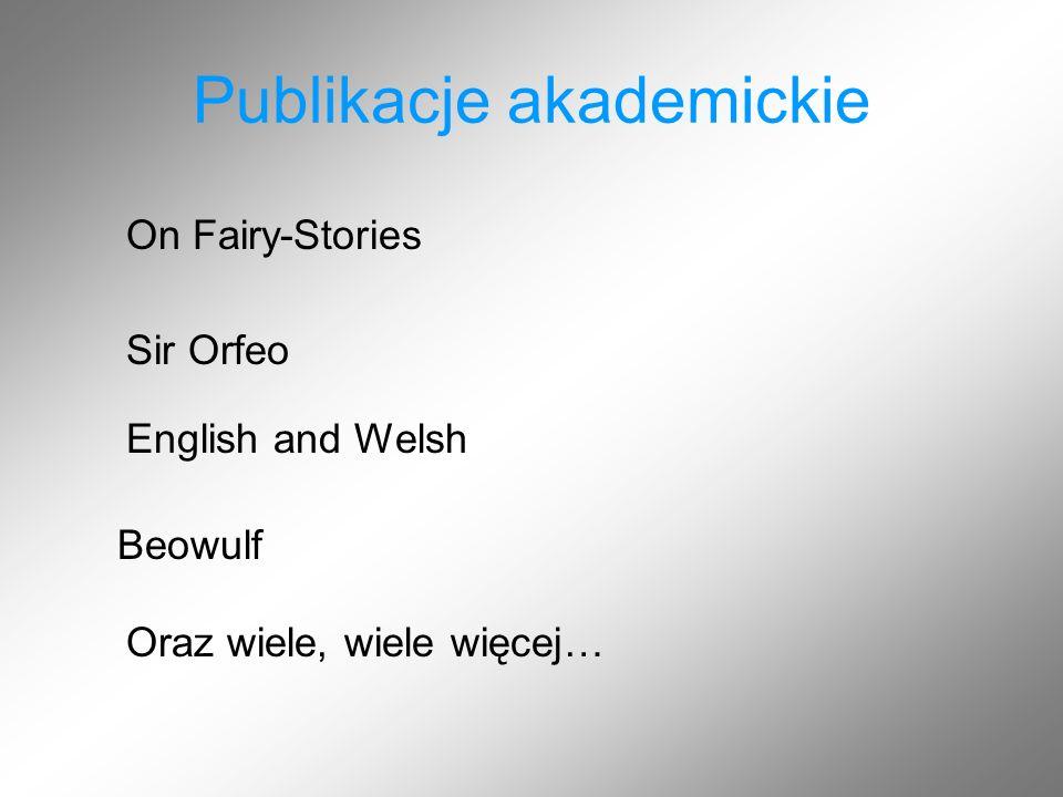 Publikacje akademickie
