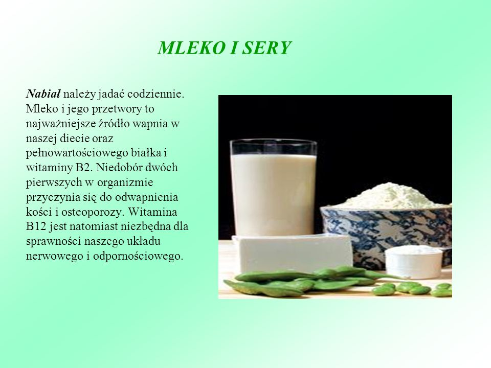 MLEKO I SERY