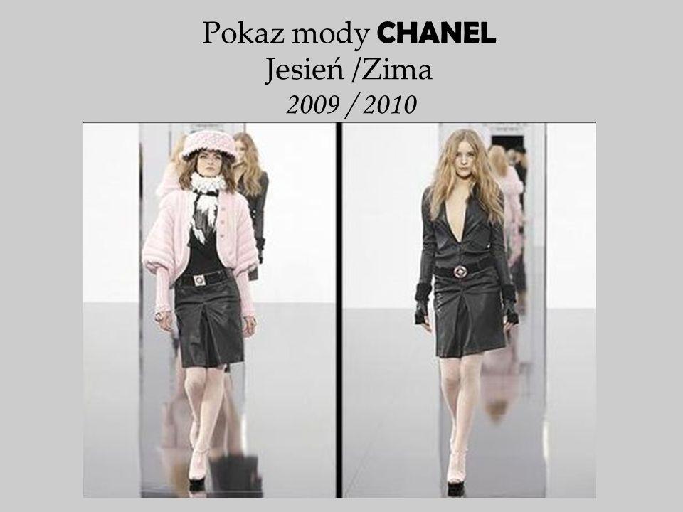 Pokaz mody CHANEL Jesień /Zima 2009 / 2010