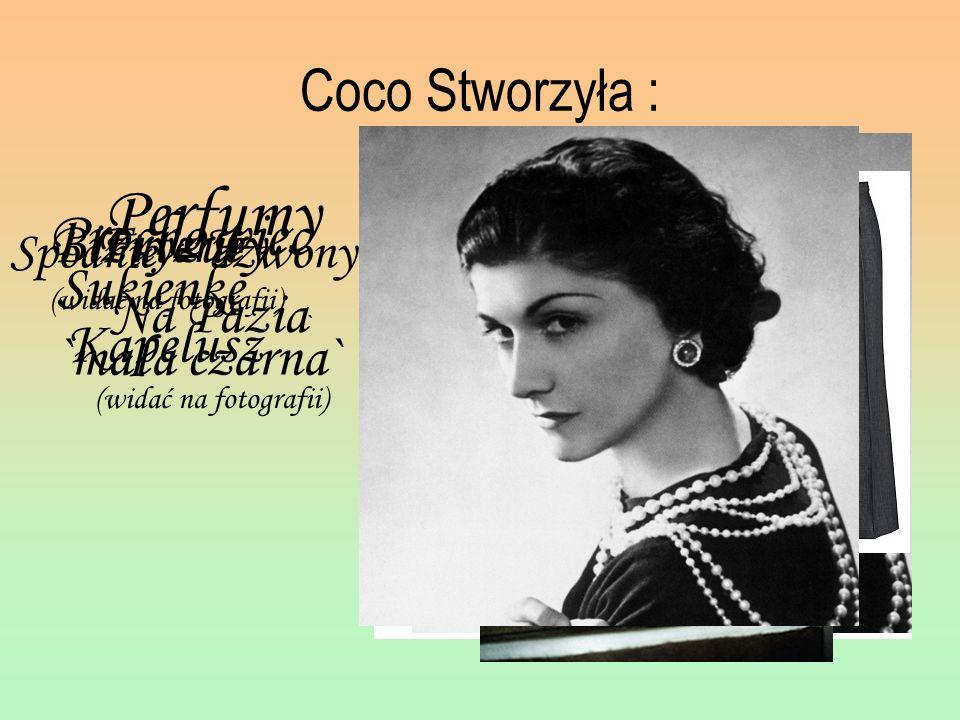Perfumy Prochowiec Coco Stworzyła : Biżuterie (widać na fotografii)