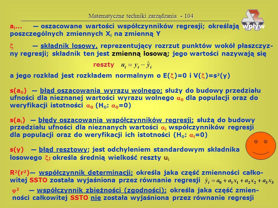 Matematyczne techniki zarządzania - 104