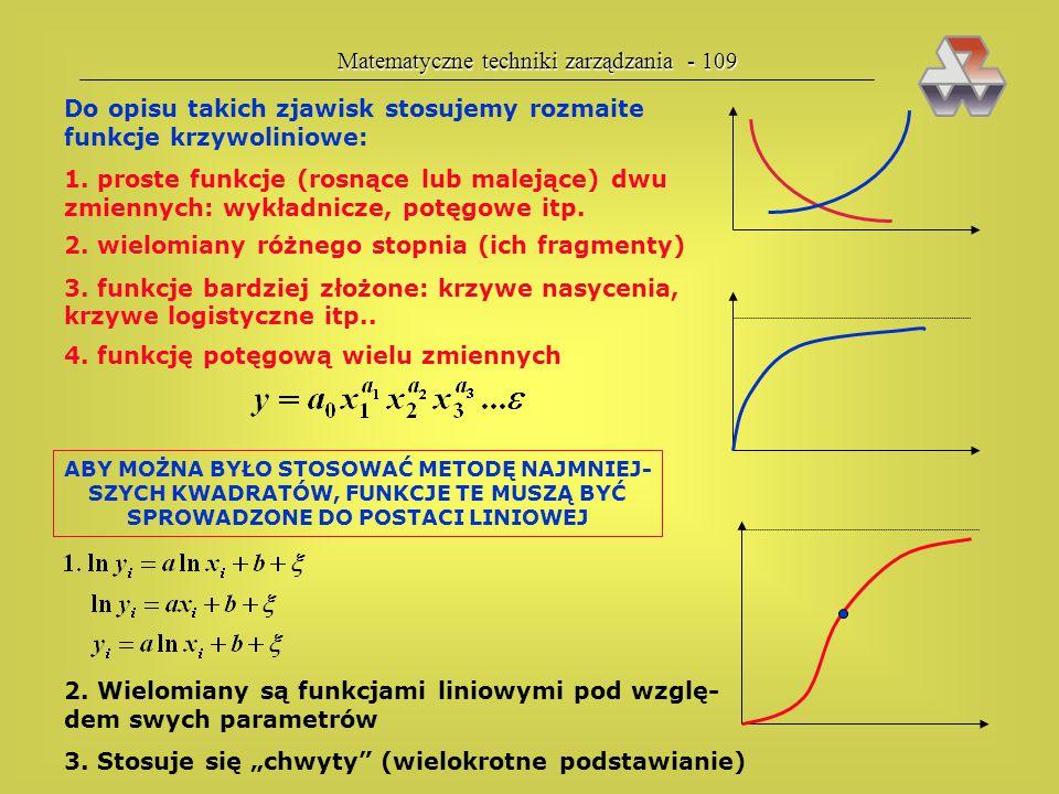Matematyczne techniki zarządzania - 109