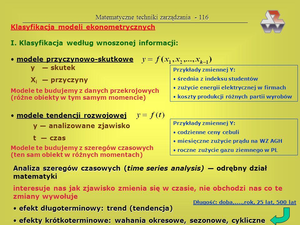 Matematyczne techniki zarządzania - 116