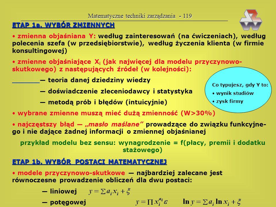 Matematyczne techniki zarządzania - 119