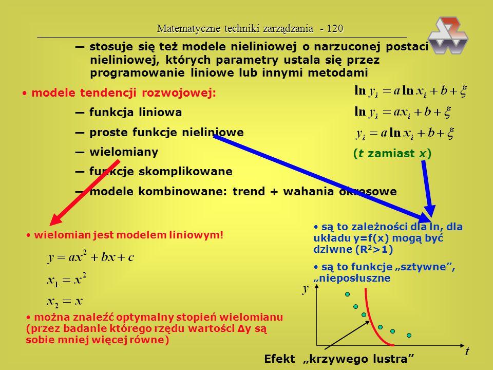 Matematyczne techniki zarządzania - 120
