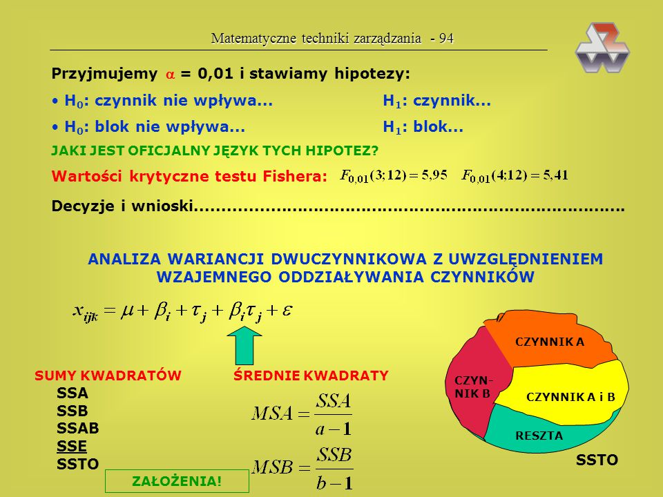 Matematyczne techniki zarządzania - 94