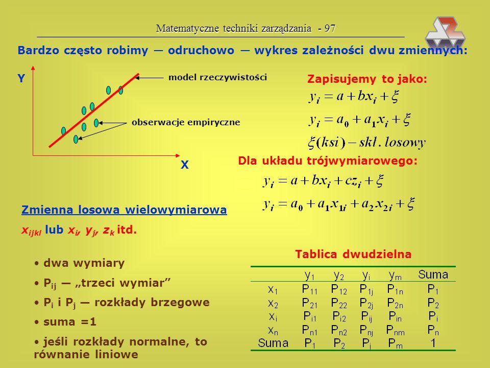 Matematyczne techniki zarządzania - 97
